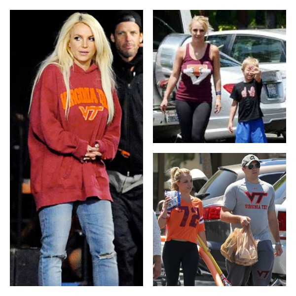 Britney Spears Hokie Fan  Hokie Nation