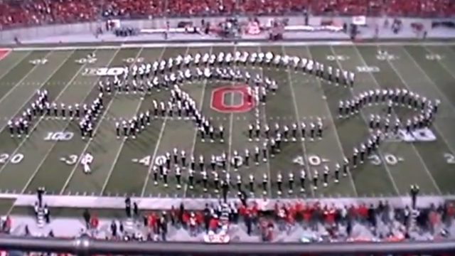 Ohio State University Marching Band Video Game Tribute