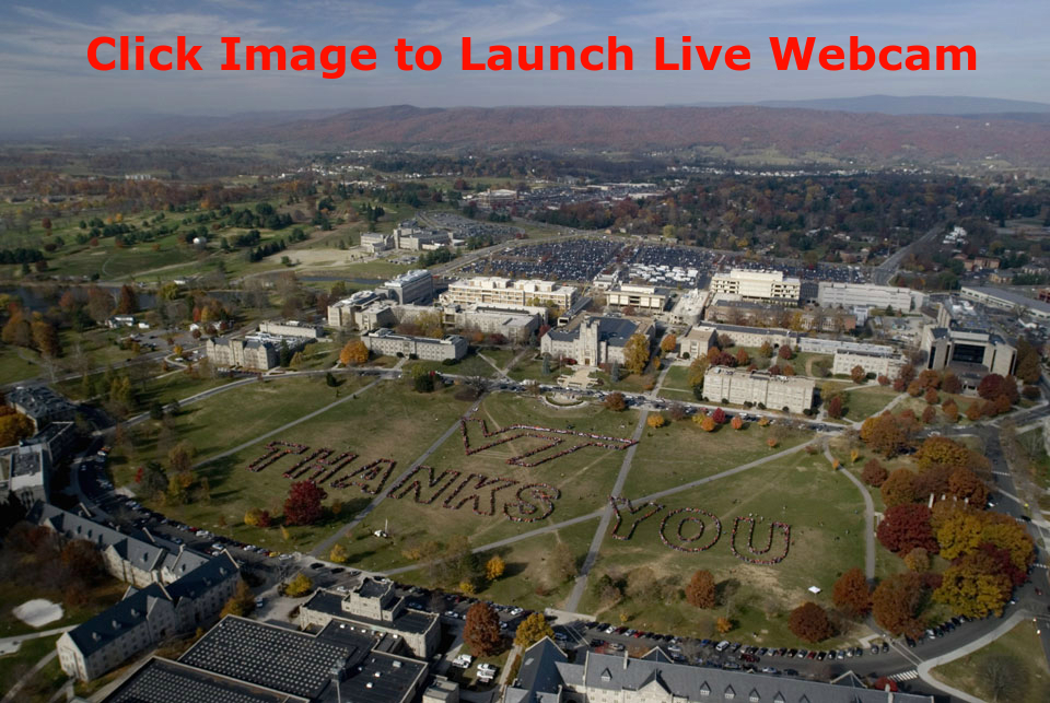Virginia Tech Drillfield Webcam