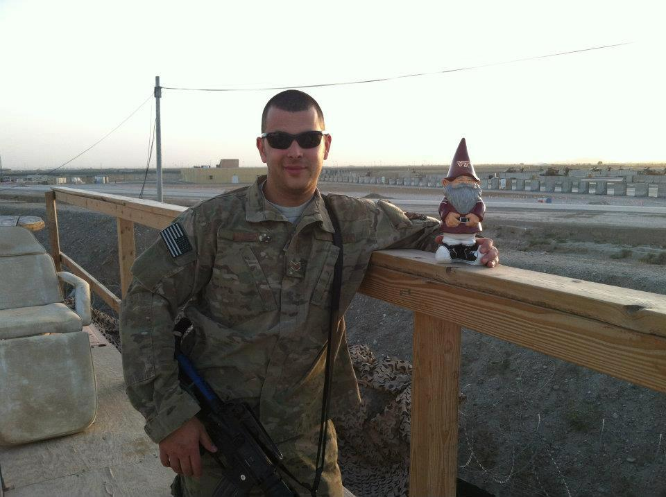 Virginia Tech Military Love Benjamin Miner