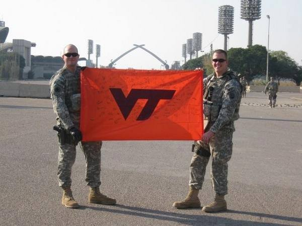 Virginia Tech Military Love Invasion