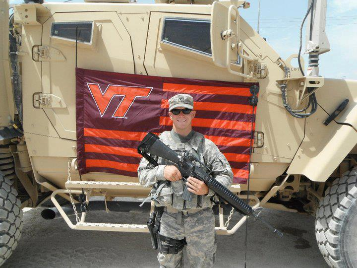 Virginia Tech Military Support Andrew Bibbins