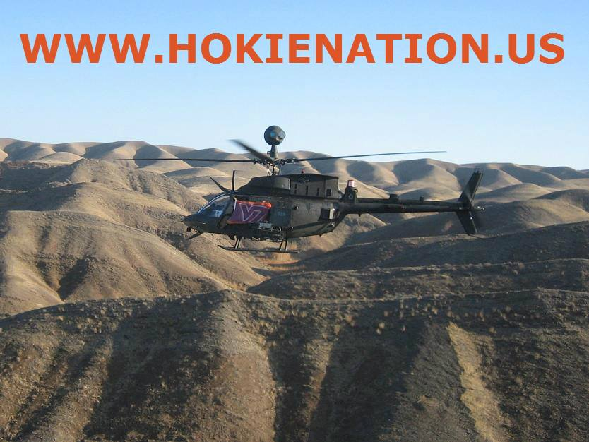 Virginia Tech Military Support Helicopter